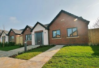 Last plot remaining at this exclusive development of just 3 detached bungalows in Church Lawton. Contact us now to arrange a viewing #churchlawton #property #newbuild #bungalow