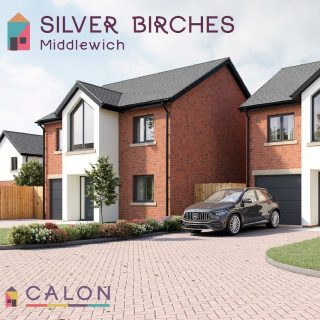 NEW DEVELOPMENT - SILVER BIRCHES Situated on the outskirts of Middlewich, Silver Birches boasts an outstanding location on the edge of miles of uninterrupted greenbelt. To be continued ....... . #newhome #architecture #design #property #estateagent #middlewich