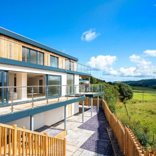Beautifully designed, state of the art luxury home near Bryn Pydew, Llandudno Junction. And wait till you see the views #property #newbuild #architecture #estateagent #northwales #llandudnojunction