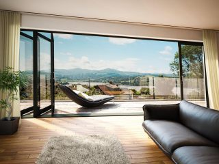 Bryn Isa, Glan Conwy - An exclusive gated development of just 4 stunning homes. With spacious interiors and amazing views towards Conwy Castle and the mountains beyond. Prices from £595,000. NOW AVAILABLE #glanconwy #conwy #northwales #property #interiordesign #architecture #newhomes
